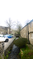Stoney Middleton   April 2017 (dave_attrill) Tags: nook spring stream cottages car park st martins church stoney middleton derbyshire peak district century village near eyam calver ancient highway limestone burning industry besom bootmaking candle roman settlement lord denman architecture outdoor hope valley water historic mid 17th april 2017 national white lead mining mines domesday book