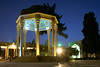 Tomb of Hafez at night (Chris Brady 737) Tags: persia iran shiraz hafez tomb dome night