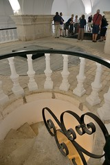 0620-20161016_Hacienda La Laguna Olive Oil Museum-Baeza-Spain-at top of spiral staircase leading up to top of olive oil vats (Nick Kaye) Tags: baeza andalucia spain europe museum oliveoil