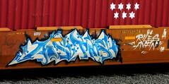AOS TMS riles (timetomakethepasta) Tags: aos tms riles ayan freight train graffiti art intermodal benching selkirk new york photography