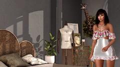 Far from home, but closer than ever (Alexa Maravilla/Spunknbrains) Tags: tukinowaguma on9 kunst theliaisoncollaborative kunglers arisarisbw catwa belleza lucboutique shinyshabby balaclava themensdepartment {whatnext} hextraordinary onedecor lagalleria nomad hive applefall ooostudio secondlife sl indoors room space interior design