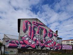 HNRX (HBA_JIJO) Tags: streetart urban graffiti vitry vitrysurseine art france artist hbajijo wall mur painting peinture murale paris94 spray urbain hnrx muraliste muralisme dents teeth