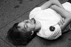 "Partied Out (Santos ""Grim Santo"" Gonzalez) Tags: fttt instagram partied out new york ny 2010 streetphotographer nycstreets newyorkcity newyorknewyork picoftheday storyofthestreet nyspc gothamist citylife sooc brooklyn lumixusa grimsanto nyc streetphotography mta subway nyclife flickr"