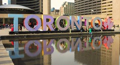 The popular Toronto 3 D sign (Trinimusic2008 - stay blessed) Tags: trinimusic2008 judymeikle urban yesterday april 2017 spring toronto3dsign candid toronto to ontario canada cityhall nathan phillips square torontoin3dsign