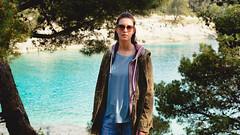 Primavera (matej.duzel) Tags: leica panasonic lumix portrait girl woman sea spring istra pula croatia adriatic beach blue nature natural light