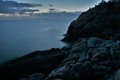 Bunker by the coast (EvenHarbo) Tags: nikond7100 norge nikon norway tananger rogaland longexposure sea ww2 worldwar2 bunker ww2bunker sky evening landscape nature