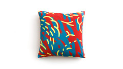 Line Klippan Covers by Artefly (arteflycom) Tags: vybrat ikea klippan covers slipcovers sofa couch 2 seater settee pillow cushion line color red yellow blue cotton artefly modern design style home decor