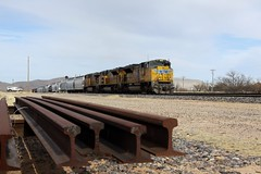 UP 8397 West Dragoon, Az 2/4/12 (DTR CEO) Tags: up unionpacific arizona dragoon rail emd sd70ace
