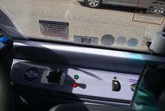 First Manchester Vantage Volvo B5LH, Lower Controls (Azzcart2000) Tags: vantage volvob5lh dashboard cab bus controls