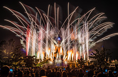 """""""Come Dream a Dream with me..."""" (Mark Willard Photography) Tags: disney disneyland paris dreams fireworks pyro pyrotechnics finale fire travel vacation nikon d810 long exposure"""