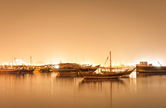 Dhows! (aliffc3) Tags: dhows doha qatar artistic art travel nikond750 tamron2470f28 reflections nightshot tourism