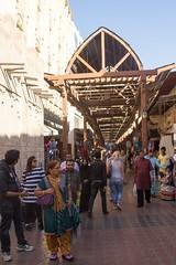 Dubaj - Old Souq (zcesty) Tags: trh dubaj spojenéarabskéemiráty sae dosvěta sae2 ae