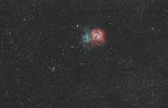 Trifid Nebula M20 (Daniel McCauley) Tags: m20 trifid nebula nebulae sagittarius milkyway stars astropix astrophoto astrophotography widefield takahashi qsi683 pixinsight wildwood belleplain new jersey