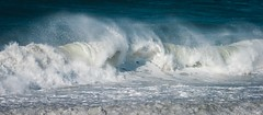 White Surf with Tails (Charlie Day DaytimeStudios) Tags: beach california highway1 landscape ocean pacificcoast pacificcoasthighway sanmateocoast surf water