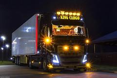 Volvo FH IV 540 Globetrotter XL - King Cargo (GR) (Michał Szczerbowski) Tags: volvo fh iv 540 globetrotter xl king cargo naczepa chłodnia tuning noc volvotrucks