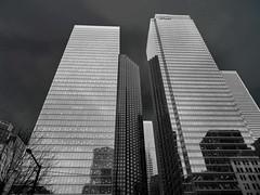 Toronto Skyscraper (duaneschermerhorn) Tags: toronto ontario canadaarchitecture building skyscraper structure highrise architect modern contemporary modernarchitecture contemporaryarchitecture black white blackandwhite blackwhite bw