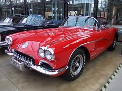 Chevrolet Corvette C1 Convertible 1960 (Zappadong) Tags: auto classic chevrolet car automobile convertible voiture coche classics oldtimer düsseldorf corvette oldie carshow 1960 c1 remise 2014 youngtimer automobil oldtimertreffen zappadong