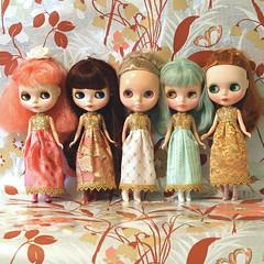 rosie, holly, imogen, sally & jasmine