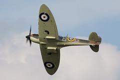 Spitfire (Huw Hopkins LRPS Photography) Tags: memorial britain flight battle spitfire 2a supermarine battleofbritainmemorialflight bbmf iia mkiia p7350 mk2a
