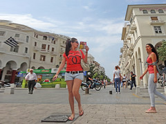 Greece, Macedonia, Thessaloniki ... watch your step girl at Aristotelous square (Macedonia Travel & News) Tags: macedonia ancient culture vergina sun thessaloniki monastery orthodox republic nato eu fifa uefa un fiba greecemacedonia macedonianstar verginasun aegeansea mavrovo macedoniablog 31278827 macedoniagreece makedonia timeless macedonian macédoine mazedonien μακεδονια македонија travel prilep tetovo bitola kumanovo veles gostivar strumica stip struga negotino kavadarsi gevgelija skopje debar matka ohrid heraclea lyncestis macedoniatimeless