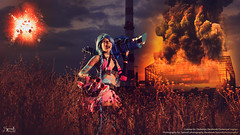 Darkenya Cosplay as Jinx from League of Legends (SpirosK photography) Tags: game costume cosplay lol videogame videogamecharacter costumeplay leagueoflegends darkenya darkenyacosplay