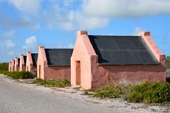 Slave huts at salt pans (Bonaire 2014)
