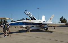 McDonnell Douglas F/A-18B Hornet (Boushh_TFA) Tags: usa nikon force desert glendale air luke flight center days nasa research hornet lightning nikkor f18 douglas base f4 vr 846 mcdonnell 2014 dryden d600 luf 24120mm fa18b kluf
