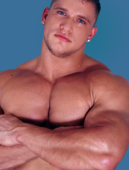 sean011938d (davidjdowning) Tags: men muscles muscle muscular bodybuilding buff bodybuilder biceps