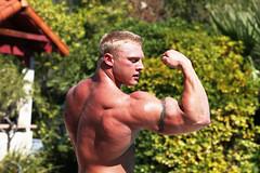 Jim Blatz D (davidjdowning) Tags: men muscles muscle muscular bodybuilding buff bodybuilder biceps