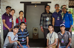 Jhopdi and Mandali Hall Cleaning Group Picture