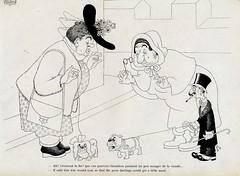 Albert Dubout Album 1944  cartoon chiens