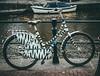 Zebra Bike (Rolling Spoke) Tags: art amsterdam bike bicycle lumix ride dinosaur bicicleta zebra bici velo fiets artbikes gx1 dutchbikes