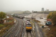 60045 Peak Forest 08/10/2014 (Flash_3939) Tags: uk train october diesel railway locomotive quarry freight dbs 2014 ews class60 peakforest dbschenker 60045 thepermenantwayinstitution