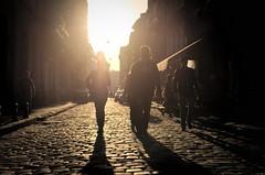 sunset in Lviv (yuzefe) Tags: people zeiss 35mm fuji 14 lviv contax fujifilm cz 35 manualfocus cy distagon 1435 cymount