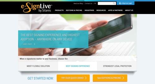 eSignLiveHomepage