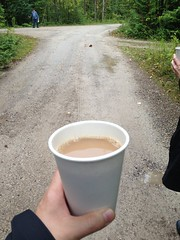 261/365 - coffee and camping (bsteel1984) Tags: ontario coffee hiking provincialpark portelgin macgregorpoint walkinginthewoods