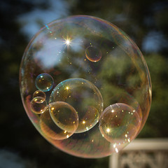 Bubbles 2 (Mariasme) Tags: lensbaby square bubbles ultrahero storybookwinner