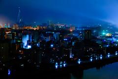 Pyongyang by night (jonas_k) Tags: travel northkorea pyongyang dprk pjöngjang
