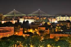 Sevilla, nocturna, Zeiss Otus test 85 f/1.4 (nautilus8052002) Tags: bridge espaa night zeiss puente sevilla nikon seville nocturna hdr centenario otus d810 otus1485