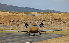 Challenger 605 M-BASH at Isle of Man EGNS 01/10/14 (IOM Aviation Photography) Tags: man isle challenger 605 011014 egns mbash