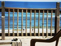 Behind Bars (Dr. Fieldgood) Tags: beach coast fishing surf north atlantic carolina outer banks