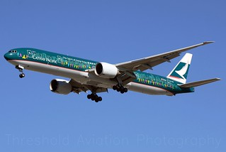 B-KPB | Boeing 777-367/ER | Cathay Pacific | KORD