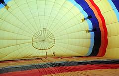 """Inside, with all that hot air..."" - Groeme, Turkey (TravelsWithDan) Tags: city tourism colors turkey candid hotairballoon insidetheballoon timeofyourlifekid gorme"