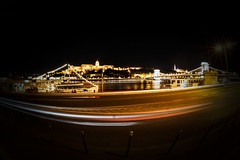 Beautiful Budapest (P Sterling Images) Tags: bridge lens hungary sony budapest sigma parliament fisheye chain f28 danube buda pest a77 10mm
