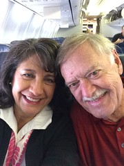 First leg of trip to Australia for Georgette and hubby Jim. Very excited to meet our life affirming friends down under!