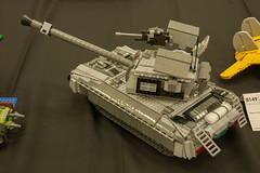 Battle Tank (SEdmison) Tags: tank lego battle convention brickcon brickcon2014
