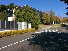 Lovely day (tripu) Tags: road november autumn building beautiful japan work campus warm university sunny delta kanagawa sfc shonan fujisawa keio shonandai 2014 keiouniversity δ shonanfujisawa