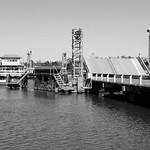 Black Bayou Bridge on LA 384 1411011157bw thumbnail