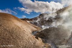 Geothermal area in Krýsuvík