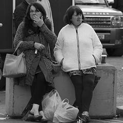 Beyond bored (Frank Fullard) Tags: street ireland portrait irish budget cigarette candid bored tax smoker unhappy ballinasloe funin fullard frankfullard